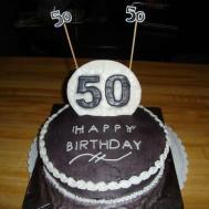50th Birthday Cake Happy