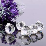 5pcs Lot Clear 20mm Crystal Window Suncatcher Diy Prisms