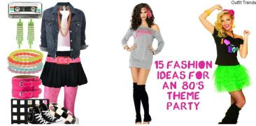 80s Theme Party Outfit Ideas Fashion 1980s