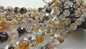 8mm 10mm Agate Beads Gemstone Diy