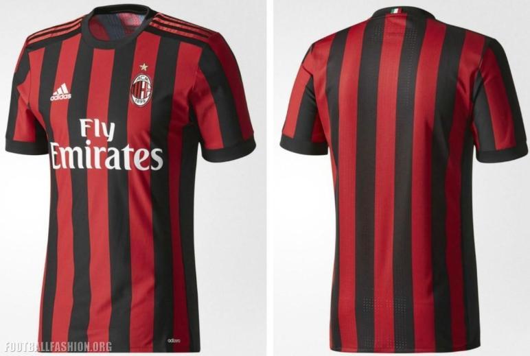 Adidas Soccer Reveals Milan 2017 Home Kit Football