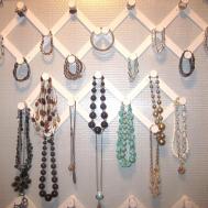 Adorable Antics Cheap Dollar Store Jewelry Organizer