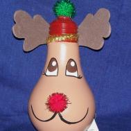 Adornos Bombillos Lightbulb Ornaments