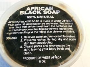 African Black Soap Paste 100 Natural Raw Organic