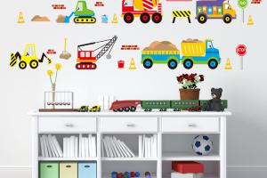 Aliexpress Buy Creative Cartoon Car Wall Stickers