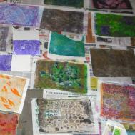 All Gelli Printing Deli Paper