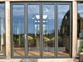 Aluminium Bifolding Doors Leeds Alpine Bifold