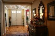 Amazing Foyer Interior Design Brown Drawer Feat