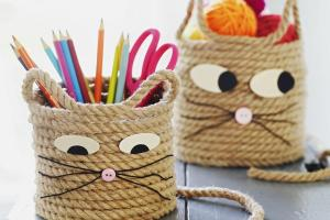 Animal Themed Rope Crafts Parents