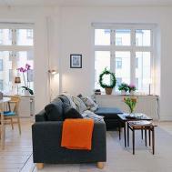 Apartment Inspirations Bright Living Room Decorating