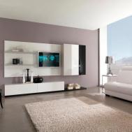 Apartment Living Room Modern Asian