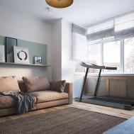 Apartment Yakoviv Polygon Architecture Design