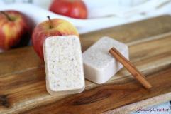 Apple Cinnamon Soap Oatmeal Easy Diy Recipe