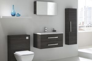 Aquatrend White Designer Modular Bathroom Furniture Collection