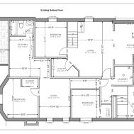Architectures Floor Design Studio Apartment Long