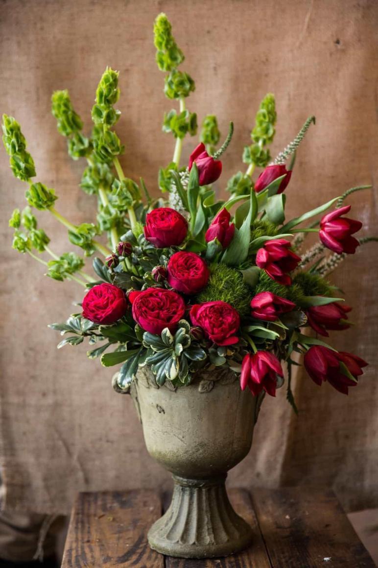 Arrangement Vase Rosetree Floral Design Events