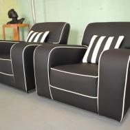 Art Deco Armchairs Cloud Furniture Sales