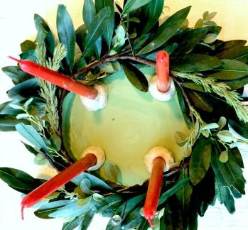 Art Erin Leigh Diy Easy Advent Wreath New Family