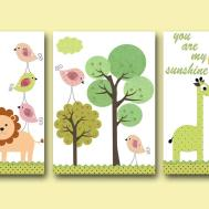 Art Kids Room Wall Baby Decor Nursery