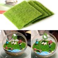 Artificial Garden Grass Lawn Moss Miniature Craft Pot
