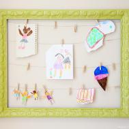 Artwork Display Frame Make Love