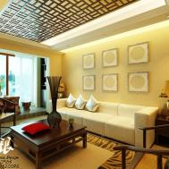 Asian Inspired Wall Art Interior Design Ideas