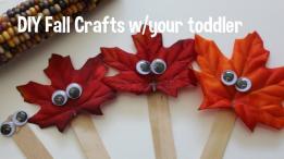 Autumn Arts Crafts Kids Craft Ideas
