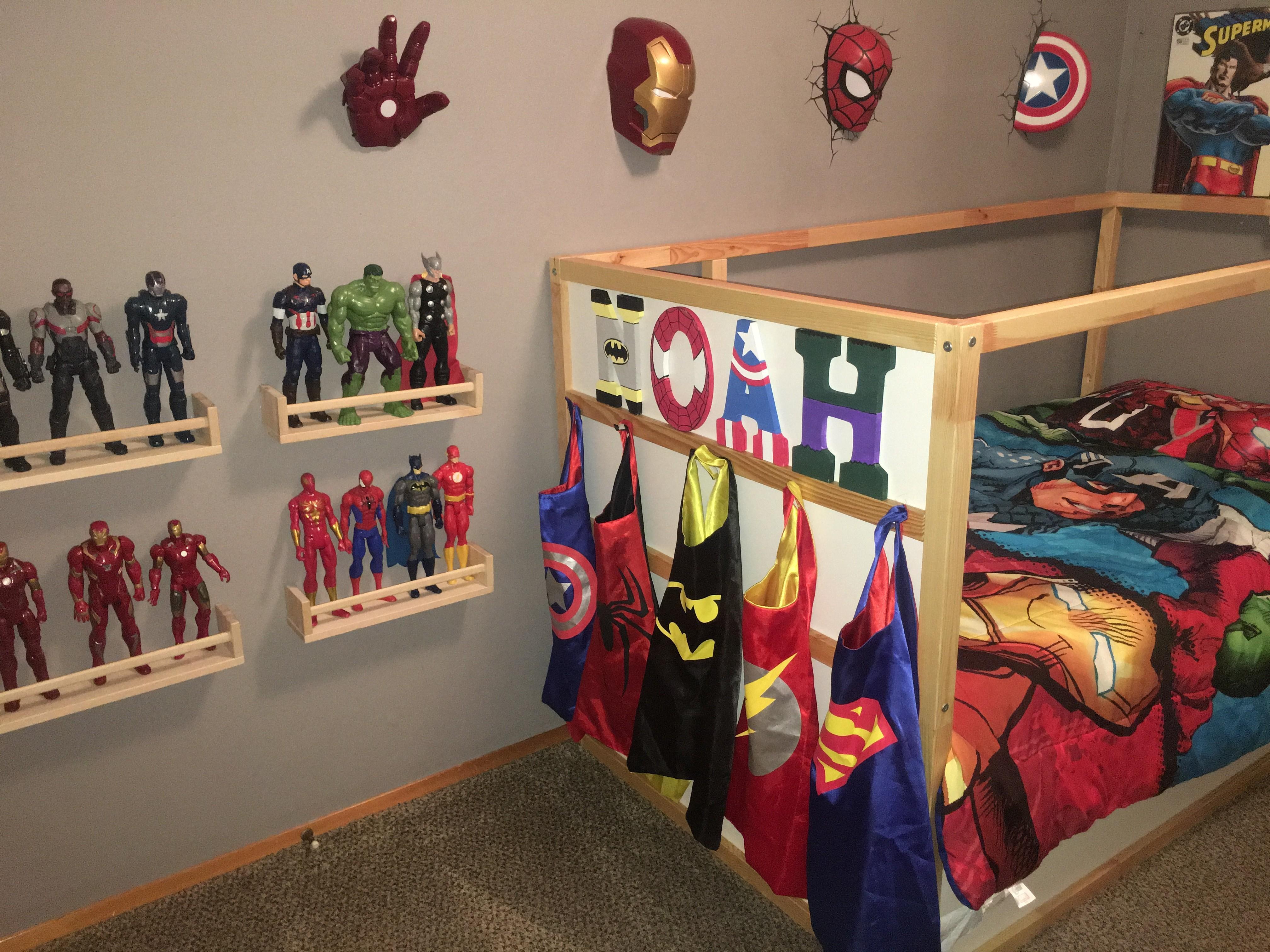 Avengers Bedroom Decor Beautiful Bedrooms Marvellous