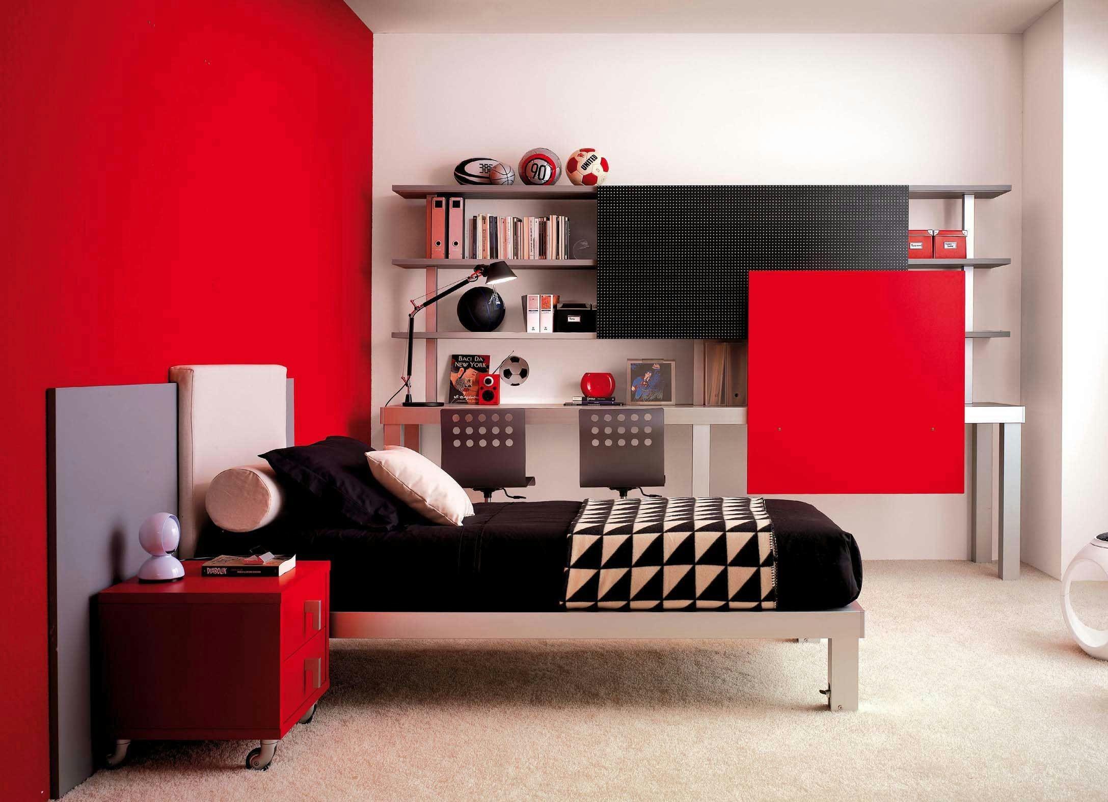 44 ingenious red kids bedrooms that
