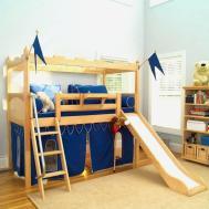 Awesome Curtain Set Loft Bed Tsumi Interior Design