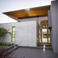 Awesome Grey Wood Glass Stainless Unique Design Modern