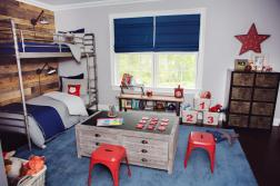 Baby Child Industrial Vintage Boy Room Makeover
