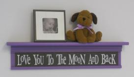 Baby Girl Brown Purple Nursery Decorating Ideas