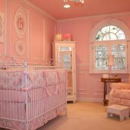 Baby Girl Nursery Princess Theme Decorations