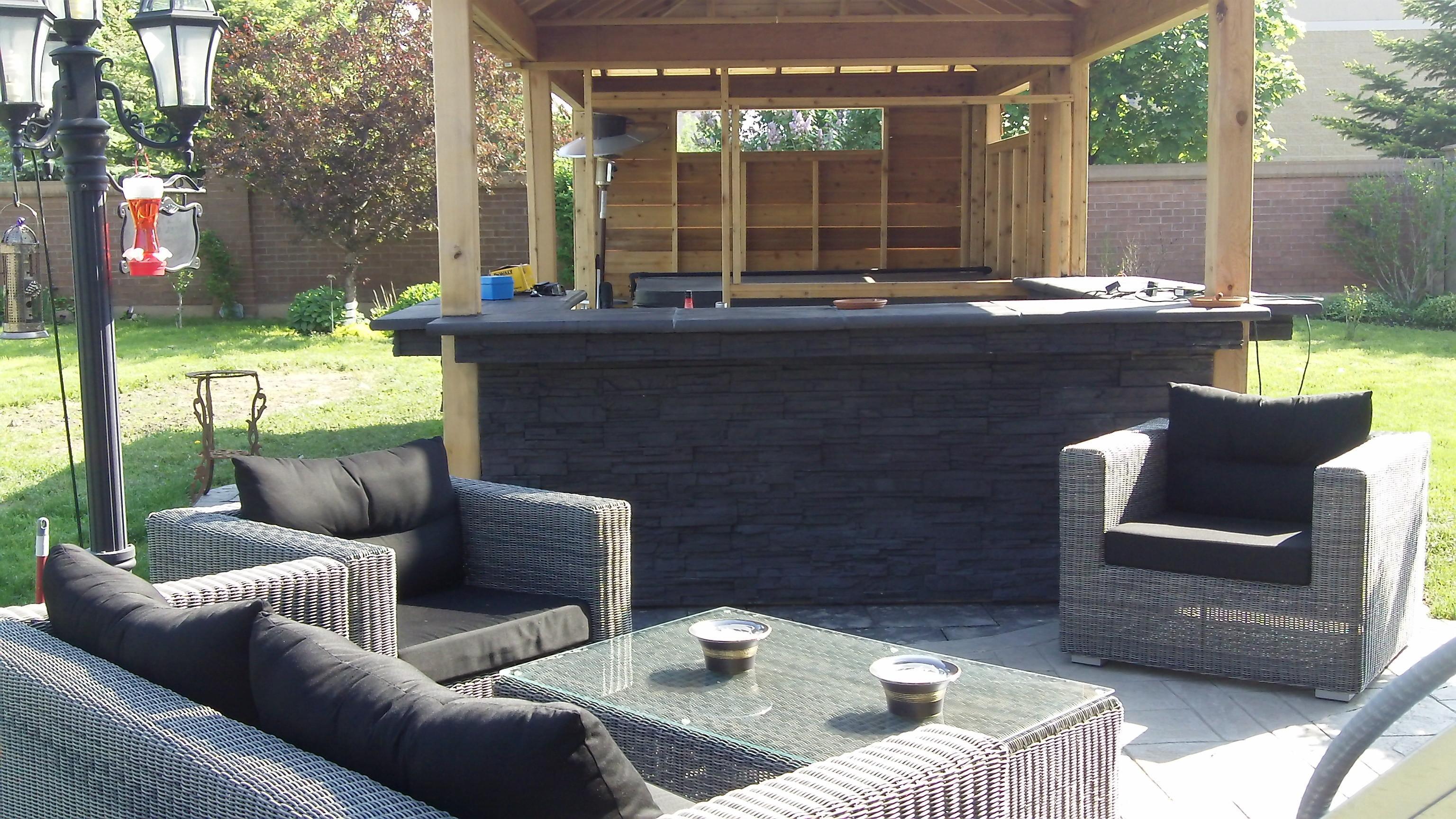 Backyard Hot Tub Ideas Installation Landscaping ...