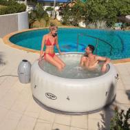 Backyard Hot Tubs Ideas Diy Hottub Wood
