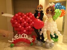 Balloon Decorations Weddings Singapore Wedding