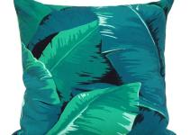 Banana Leaf Cushion Summer Decor Clearance
