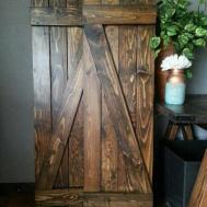 Bar Rustic Wood Shutters Wooden Barnwood