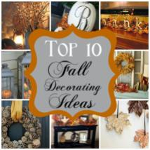 Barnabas Lane Top Fall Decorating Ideas