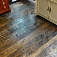 Barnwood Bangles Reclaimed Wood Kitchen Floor