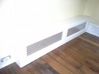 Baseboard Radiator Covers Aluminum Tape Seal Gap