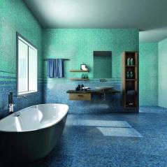 Bathroom Blue Wall Tile Designs Ideas Home Design