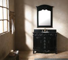 Bathroom Captivating Black Vanities Decorate