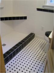 Bathroom Gorgeous Wood Look Tile Floors