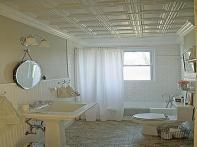 Bathrooms Beadboard Tin Bathroom Ceiling Ideas