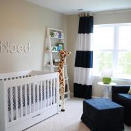 Beautiful Baby Boy Nursery Decorating Ideas Room Color