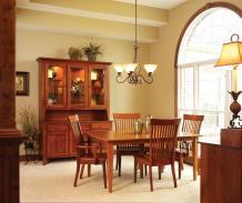 Beautiful Dining Room Ideas Oak Furniture Light