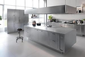 Beautiful Stainless Steel Kitchen Design Ideas