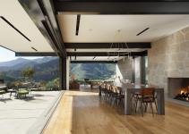 Beautiful Toro Canyon House Panoramic Santa